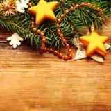 Christmas retro background Royalty Free Stock Photos