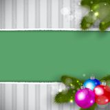 Christmas Retro Background Stock Images