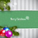 Christmas Retro Background Stock Photos