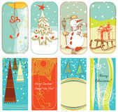 Christmas retro backgrounds Royalty Free Stock Photography