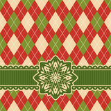 Christmas retro card Royalty Free Stock Photography