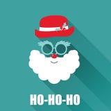 Christmas Retro Card Stock Image