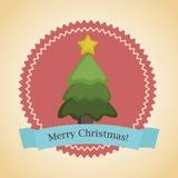 Christmas retro design Stock Images