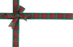 Christmas ribbon Stock Photography