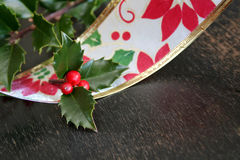 Christmas Ribbon Stock Photos