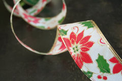 Christmas Ribbon Stock Photography