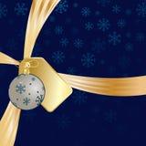 Christmas ribbon Royalty Free Stock Image