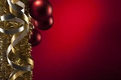 Christmas ribbon Stock Image