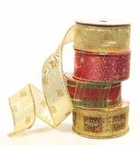 Christmas ribbon Royalty Free Stock Photography