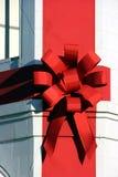 Christmas ribbon stock images