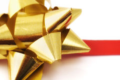 Christmas ribbon Royalty Free Stock Images
