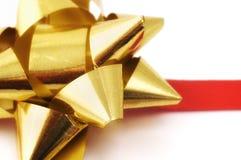 Christmas ribbon Royalty Free Stock Images