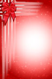 Christmas Ribbon Abstract Background. An abstract Background for Christmas Royalty Free Illustration