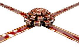 Christmas Ribbon and Bow Royalty Free Stock Photo
