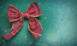 Christmas ribbon Royalty Free Stock Photography