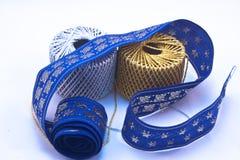 Christmas ribbons Royalty Free Stock Image