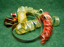 Christmas Ribbons Stock Image