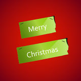 Christmas Ripped paper background Royalty Free Stock Images