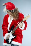Christmas rock-n-roll Royalty Free Stock Photography