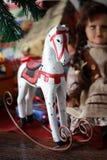Christmas rocking Horse Royalty Free Stock Photo
