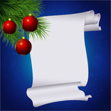 Christmas roll Royalty Free Stock Images