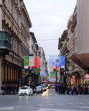 Christmas in Rome Stock Images