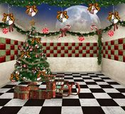 Christmas room Royalty Free Stock Photography