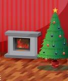 Christmas Room Stock Image