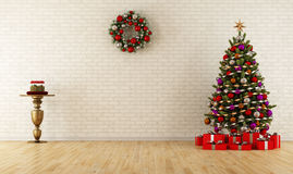 Christmas room Stock Photos