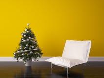Christmas Room Interior Design. Render Christmas Room Interior Design Stock Images