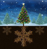 Christmas Roots Royalty Free Stock Photography
