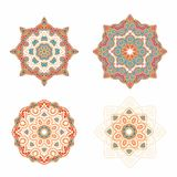 Christmas rosettes in arabic style Stock Photography