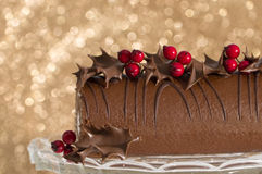 Christmas Roulade Royalty Free Stock Image