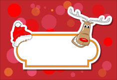Christmas rudolph Royalty Free Stock Photos
