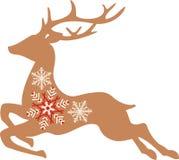 Christmas Rudolph Deer Royalty Free Stock Photos