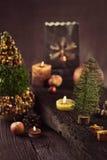 Christmas rustic decoration Royalty Free Stock Photos