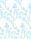Christmas Rustic Seamless Pattern with branch. Vector. EPS 10 Stock Photos