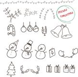 Christmas s by hand drawing royalty free illustration