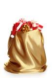 Сhristmas sack full of presents Royalty Free Stock Photo