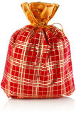 Christmas sack full of presents Royalty Free Stock Photo