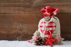 Christmas sack Royalty Free Stock Photo