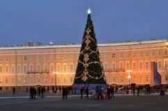 Christmas in Saint Petersburg, Russia Royalty Free Stock Photo
