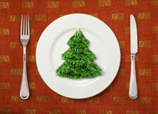 Christmas salad Stock Photo