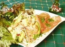 Christmas Salad Stock Photography
