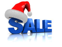 Christmas sale Stock Image