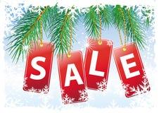 Christmas sale Royalty Free Stock Photography