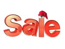 Christmas Sale. Christmas Holiday Season Sale Sign Stock Photography