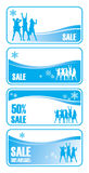 Christmas sale 2 Royalty Free Stock Images