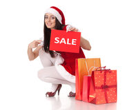 Christmas sale. Stock Photography