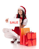 Christmas sale. Stock Photo